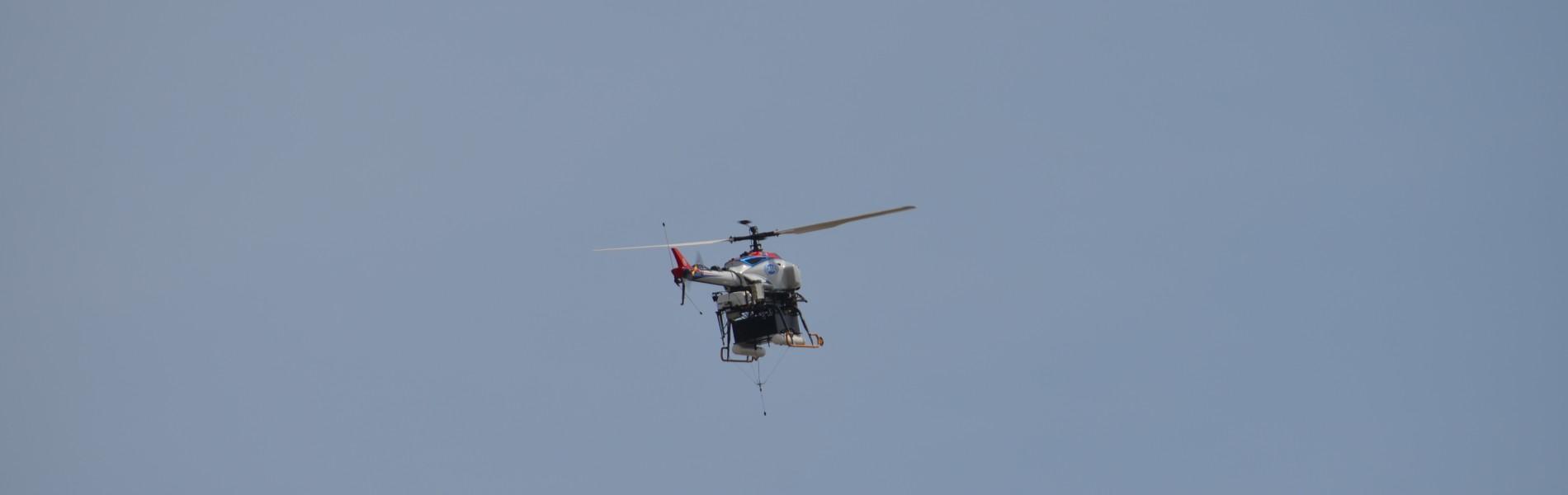 UAV搭載装置開発・研究
